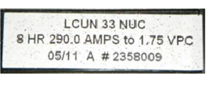 battery date stamp