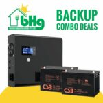 UPS & battery power backup combo deal