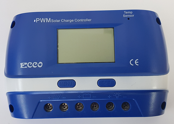PWM Charge Controllers 12/24 Volt  Amp